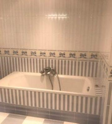 Salle de bain avant renovation